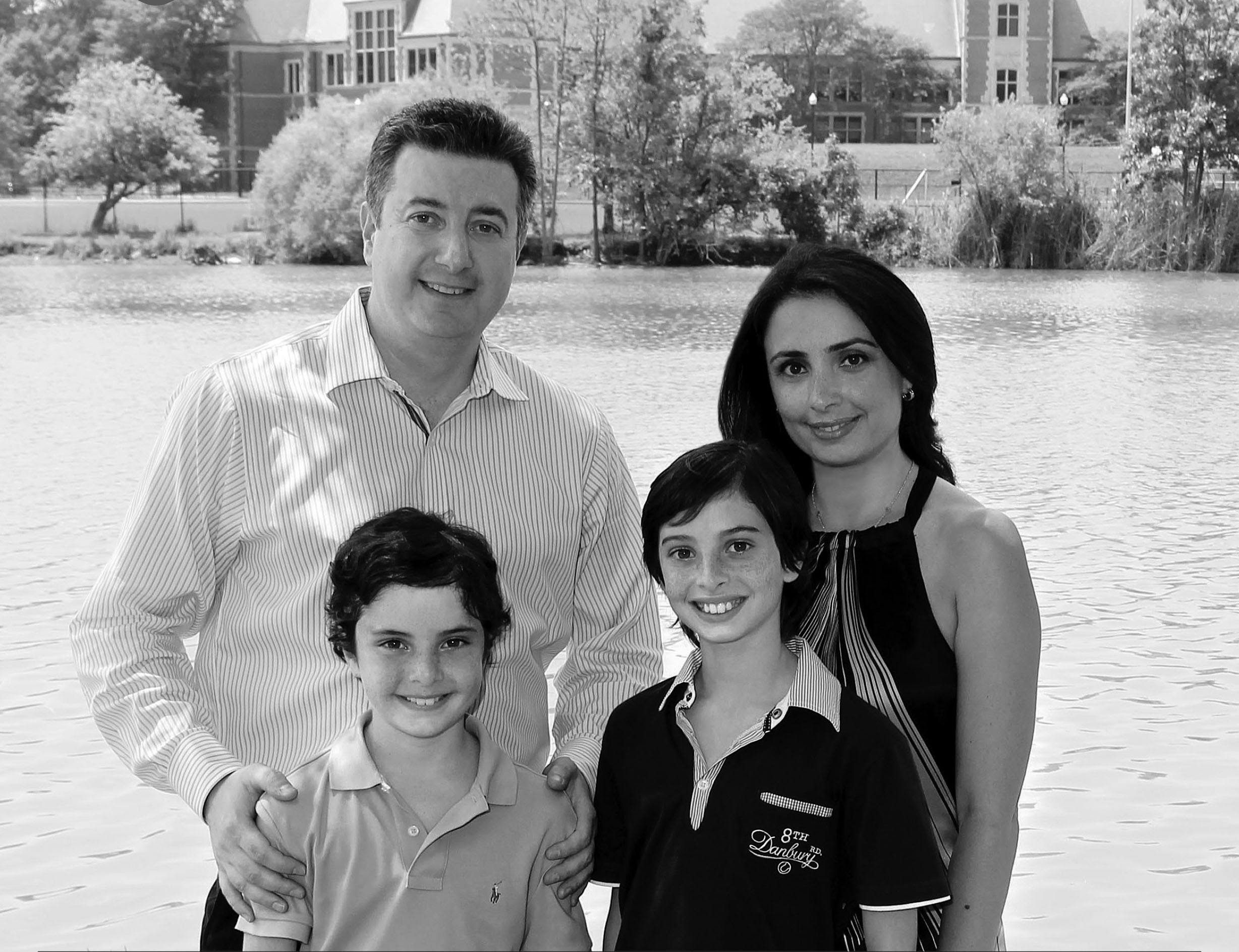 Dr. Sherman and his family